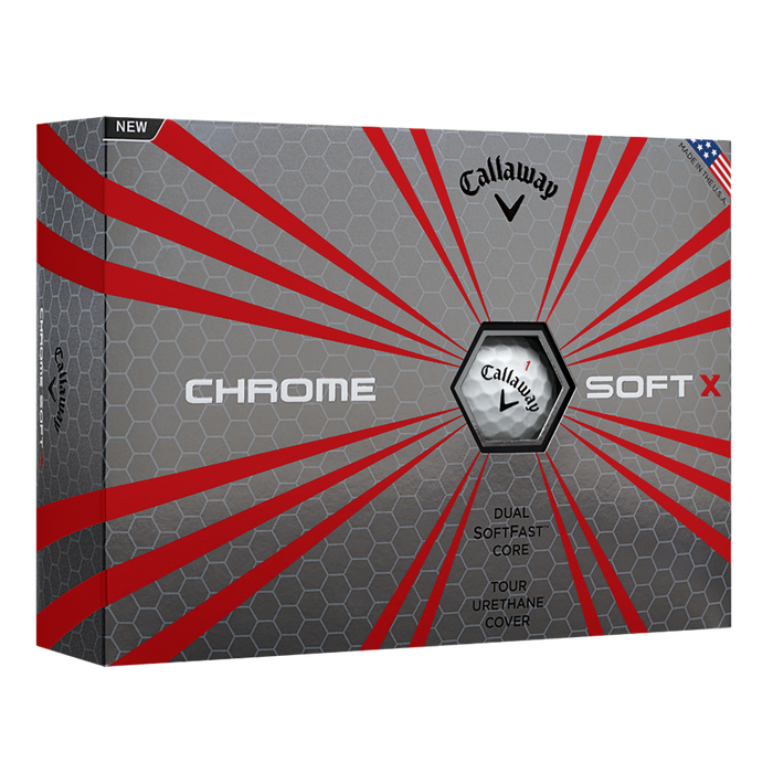 Chrome Soft X Golf Balls