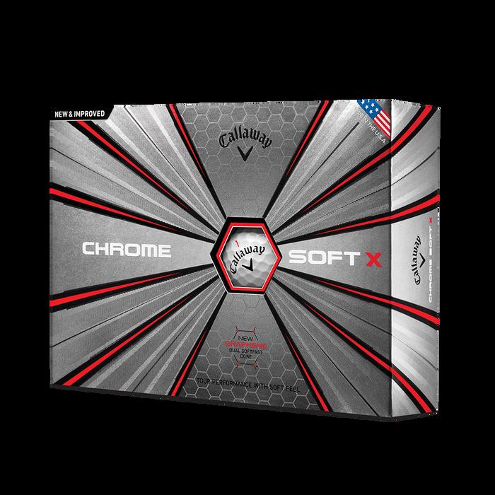 2018 Chrome Soft X Golf Balls