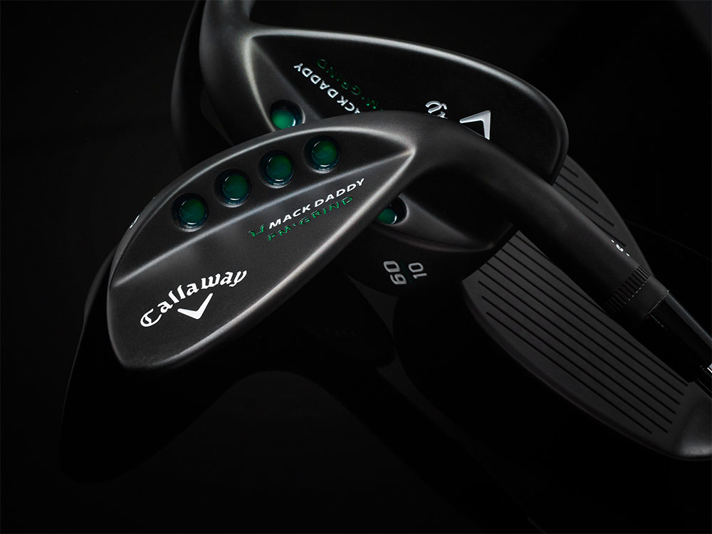 Callaway Mack Daddy PM-Grind Matte Black Wedges