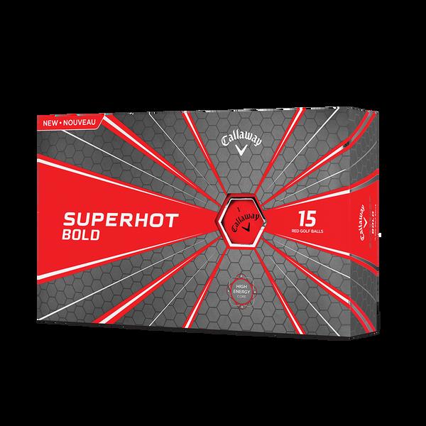 Superhot Bold Matte Red 15-Pack Golf Balls Technology Item