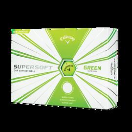 Supersoft Matte Green Golf Balls