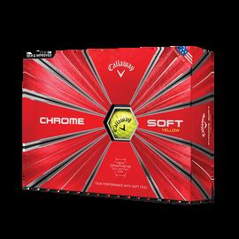 Chrome Soft Yellow Golf Balls