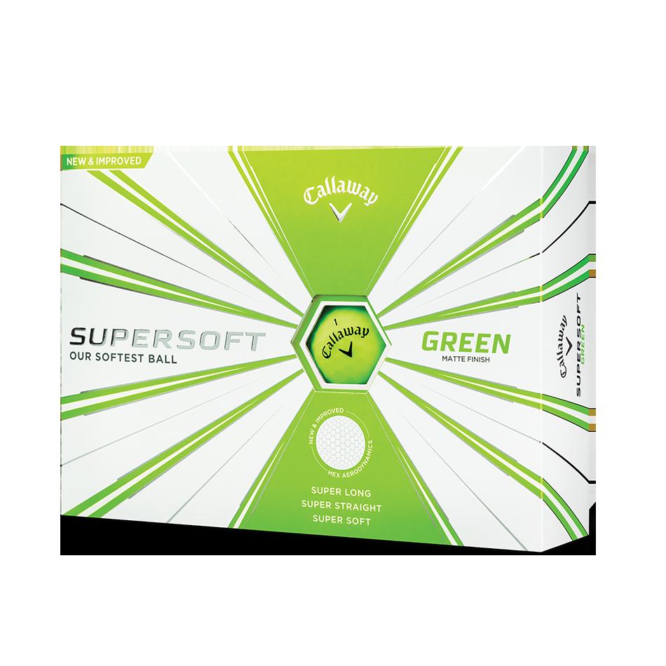 Callaway Supersoft Matte Green Golf Balls - Featured