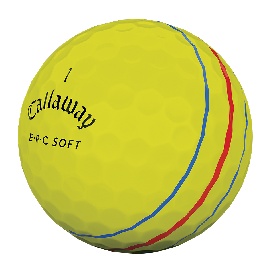 ERC Soft Yellow Golf Balls - View 3