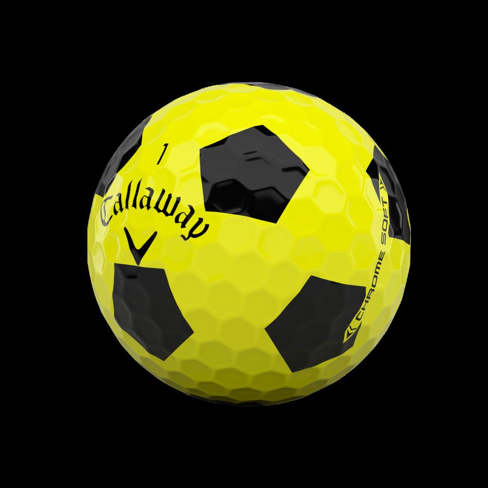Chrome Soft Truvis Yellow Golf Balls - View 4