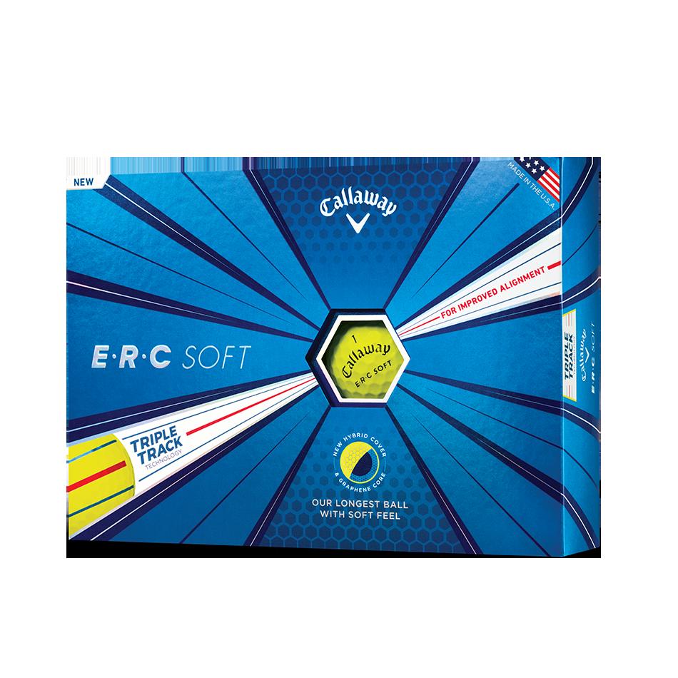 ERC Soft Yellow Golf Balls - Featured