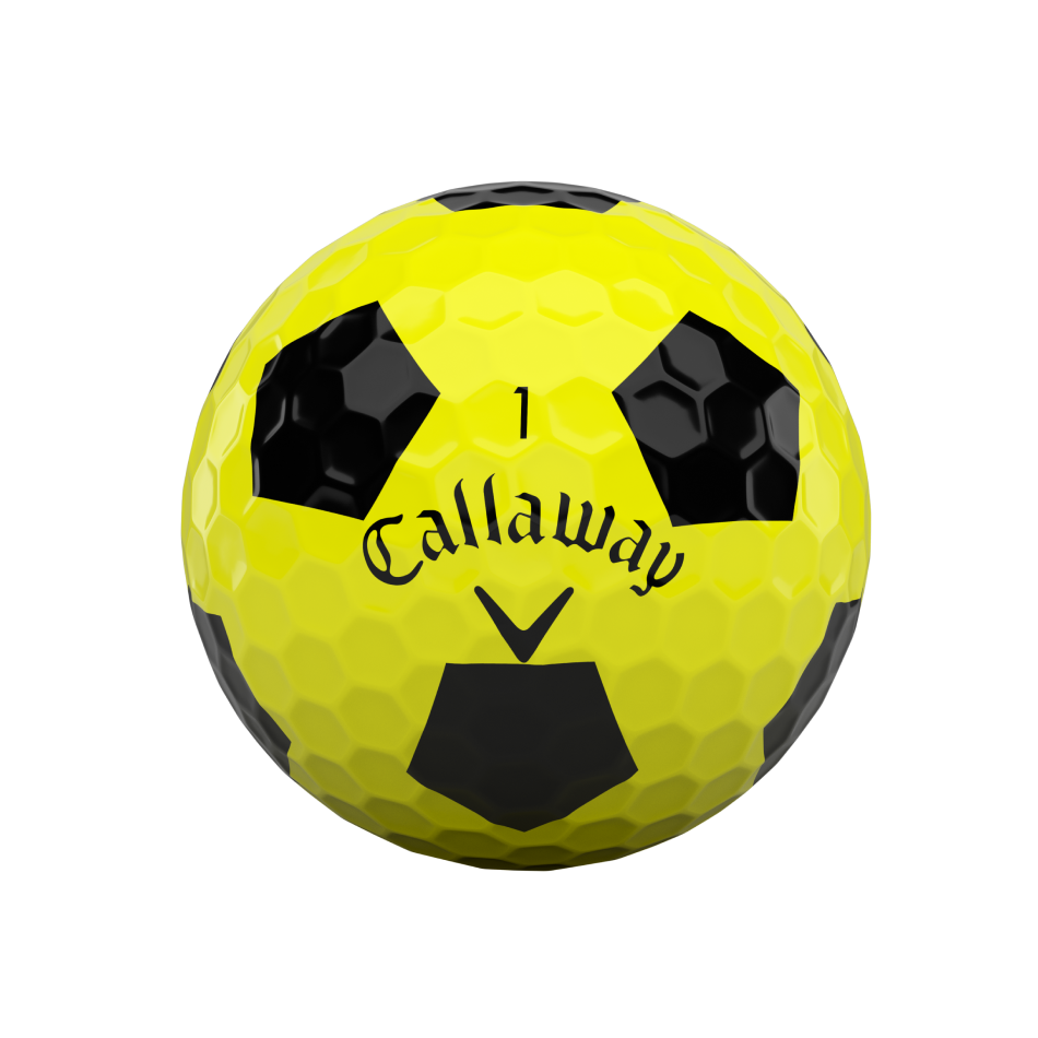 Chrome Soft Truvis Yellow Golf Balls - View 3