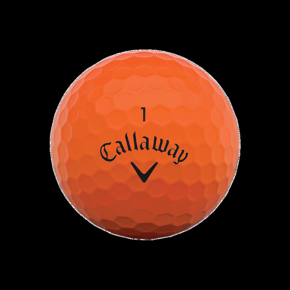 Callaway Supersoft Matte Orange Golf Balls - View 3