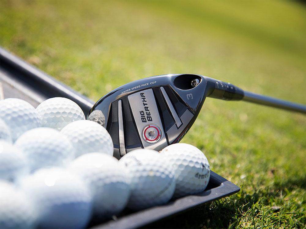 Callaway Big Bertha OS Hybrid With Golf Balls