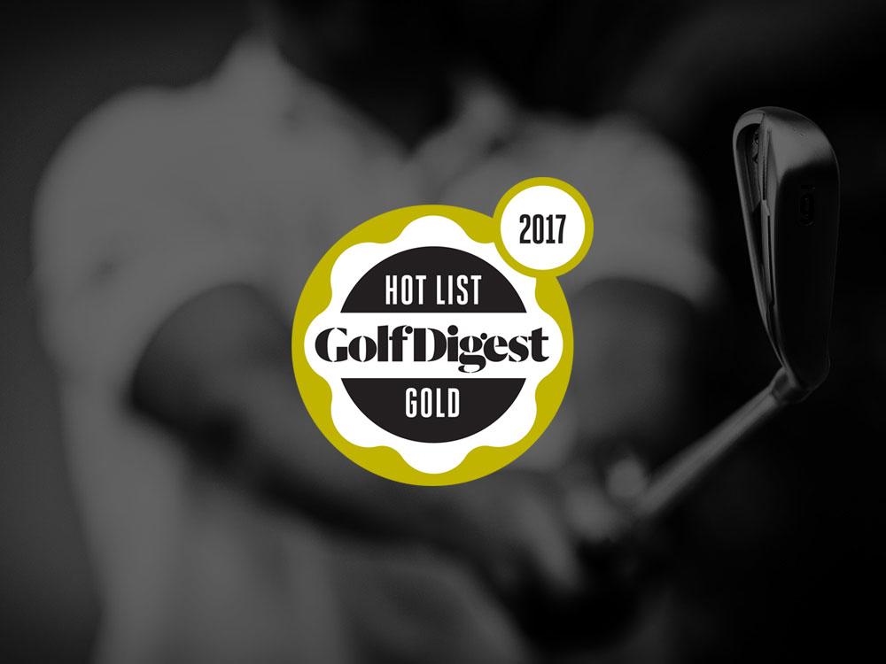 Callaway Apex CF 16 Irons 2017 Golf Digest Hot List Badge