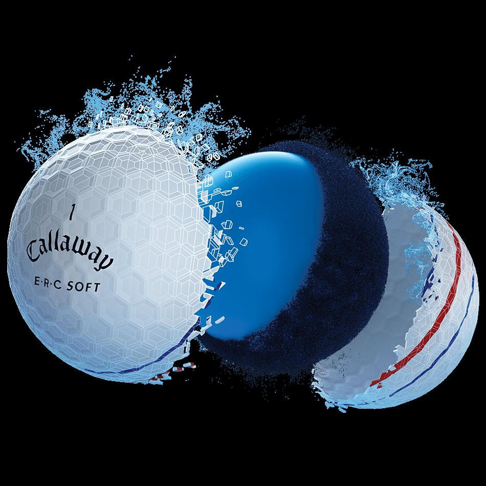 ERC Soft Golf Balls Technology Item